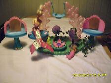 Sehr alte Barbie Meerjungfrau mit Schaukel und vieles andere