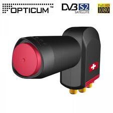 Opticum Red Rocket Quattro LNB LNC 0,1dB HDTV 3D Multifeed