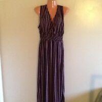 Women's Plus Size Surplice Long Maxi Dress 1X 2X 3X