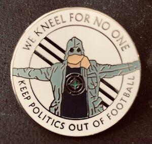 England Hooligan Pin Badge