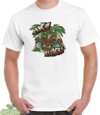 Mens Tiki Attack! 100% Cotton T-Shirt