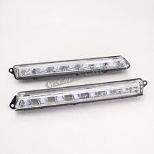 2pcs For Mercedes Benz X166 GL350 GL450 GL500 550 LED DRL Daytime Running Light