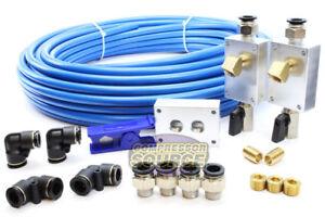 "Rapid Air Garage / Shop Compressed Air Line Kit Complete System 100 ft. 1/2"" New"