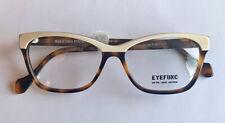 New EYEFUNC LONDON Eyeglasses MOD 10 8096 51-16-140 FRANCE WHITE/MOTHER OF PEARL