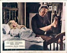 Frankenstein Created Femme Peter Cushing Lobby Carte GB