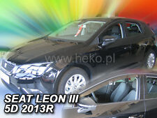 HEKO Windabweiser SEAT LEON III 5-türig ab 2013 2-teilig  28238