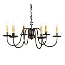 Sheraton Six-Arm Chandelier, Irvin's Country Tinware