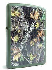 Zippo Mossy Oak break up Tarn-Look bosque en ambos lados motivo tormenta encendedor, nuevo