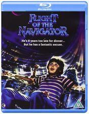 Flight of the Navigator [Blu-ray Movie, 1986 Sci-Fi, Region Free, 1-Disc] NEW