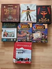 7 PC Games, Original Adventure, Action, LucasArts Blizzard Sierra Sunflowers u.a