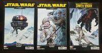 Star Wars #1 & #2 Darth Vader #1 - Star Wars Empire Strikes Back Variant Lot