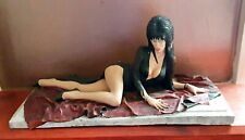 "Sexy Elvira Resin Model 13"" long.  hand painted. Mistress Of The Dark"