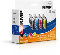 KMP Vorteilspack B29V für Brother LC-1100 Bk C M Y DCP 145 165C 185 385C