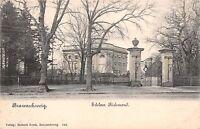 BRAUNSCHWEIG GERMANY SCHLOSS RICHMON POSTCARD 1903 PSTMK TO CAMBERWELL LONDON