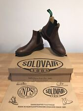 NPS SOLOVAIR Brown Greasy Leather Dealer Chelsea Boot! Size UK7! New! Only