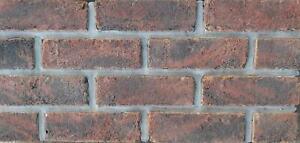Pack Of 300 - Genuine Handmade Facing Brick - Cottage Black - 65mm - %100 Clay