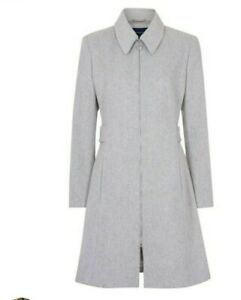 French connection fast divine coating coat