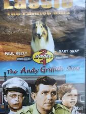 LASSIE THE PAINTED HILLS + ANDY GRIFFITH SHOW new dvd DOUBLE FEATURE