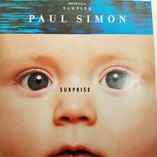 Paul Simon Surprise Sampler PROMO CD How Can You Live In The Northeast 4 Tracks