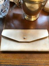 Vintage Natural Leather Mens Ladies Multi Business Card Holder by Buxton