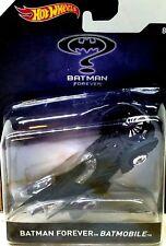 Hot Wheels 1995 Batman Forever BATMOBLE Matte Black Finish 1:50 Scale