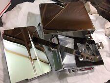 harley FL shovelhead battery tray/pad/strap/covers 1974-79 66204-74,  66378-70a