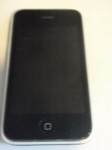 VINTAGE APPLE iPHONE 8G MODEL A1241 AT&T WORKING BUT NO SIM CARD CELL PHONE