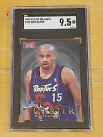 1998 Fleer Brilliants #105 Vince Carter SGC 9.5 LOW POP RC Rookie