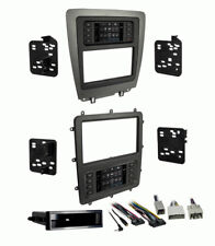 Metra 99-5839CH Single/2 Din Touchscreen Dash Kit for 2010-2014 Ford Mustang