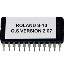 Roland S-10 firmware Final OS upgrade update v 2.07 Sampler S10