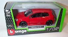 Burago - VW Volkswagen GOLF GTi Mk5 (Red) Model Scale 1/32
