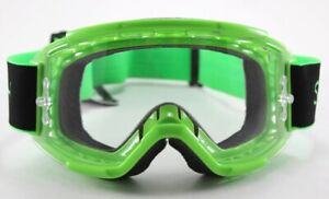 Smith Squad MTB Bike Goggles Reactor Green Frame, Clear Lens New