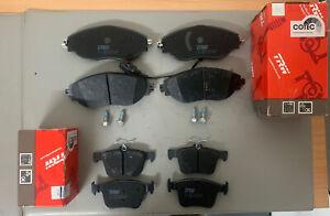 Front And Rear TRW Brake Pads Audi S3 8V VW Golf MK7 R Seat Leon Cupra 280/RS