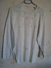 1 PULL Femme - Blanc Taille M - Bon état