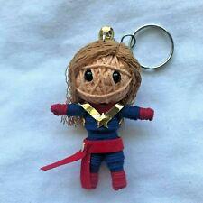 Captain Marvel Carol Danvers Avengers End Game Voodoo Keychain Keyring Charm NEW