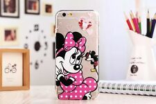 Ultra Thin Cartoon Soft Crystal Clear Phone Case Cover for iPhone Samsung Galaxy
