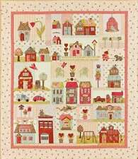 TINY TOWN BLOCK OF THE MONTH QUILT PATTERN, From Bunny Hill Designs NEW