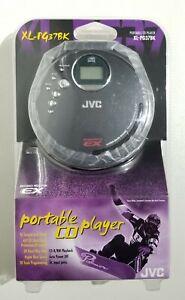 Vintage JVC Portable Black Personal CD Player XL-PG37BK (New/Sealed)