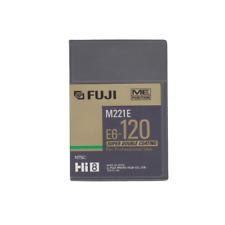 Fuji M221E Super Double Coating Professional Hi8 Tape E6-120, 120min