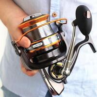 Long Shot Saltwater Spinning Fishing Reel 9000 , 13BB Metal Spool Surf Casting