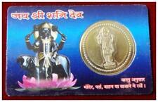 Jai Shree Shani Dev Pocket Yantra ATM Card - For Temple Home Purse