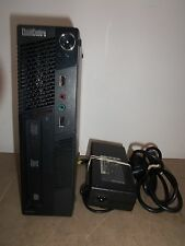 LENOVO ThinkCentre M90p i5-660 3.3Ghz 80GB 4GB DVDRW BROKEN POWER BUTTON + PSU