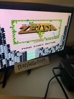 The Legend of Zelda (1987) Gold Cartridge - TESTED AND WORKS