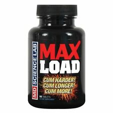 MD Labs Max Load Male Enhancement Pills for Men 60ct Bottle Feel The Eruption