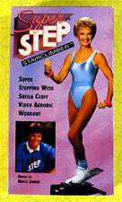 Super Step Stairclimber ~ Bruce Jenner VHS Movie Video ~ Vintage Workout Fitness