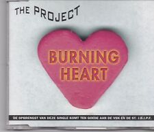 The Project-Burning Heart cd maxi single