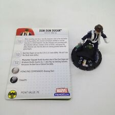 Heroclix Secret Invasion set Dum Dum Dugan (Human) #032a Rare figure w/card!