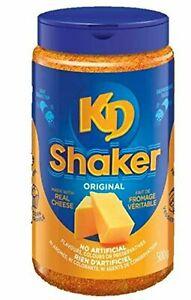 Original KD Shaker 500g/17.6oz Real KRAFT Cheese Powder 500g EACH - FRESH CANADA