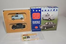 * VANGUARDS GIFT SET HB2002 AUSTIN MINI VAN FORD PERFECT 100E POLICE MINT BOXED