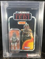 STAR WARS BOBA FETT AFA U90 VINTAGE ORIGINAL TRILOGY COLLECTION UNPUNCHED RARE